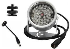 48 LED Infrared Illuminator For Night Vision Paranormal Ghost Hunting Equipment