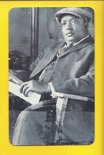 RUBE FOSTER, Negro League ~ Baseball Hall of Fame flash-pack card (1995 Fax Pax)