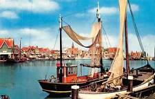 Netherlands Volendam Fishing Boats Harbour Bateaux