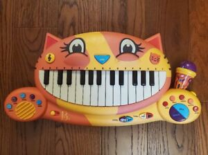 B Toys Meowsic Cat Muscical Keyboard Piano Microphone