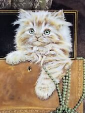 """1985 Royal Worcester/Pa 00004000 m Cooper Kittens Classic 2nd Issue """"Purrfect Treasure""""Nib"""