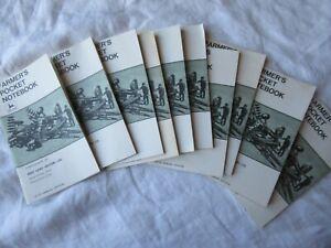 Lot of 10 1974 107th Edition John Deere Pocket Ledger Notebook 920 1830 tractor