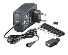 SNG-1500USB McPower Stecker Netzgerät regelbar 3-12V DC 1,5A Trafo Netzteil