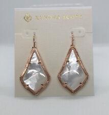 Kendra Scott Alex Drop Earrings in Ivory Pearl / Rose gold