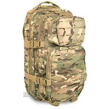 Mil-Tec Small Laser MOLLE Army Daysack Assault Pack Rucksack 20L Multicam MTP