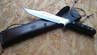 Puma Phoenix Bowiemesser Jagdmesser Gürtelmesser Jagd Messer Ebenholz 338220