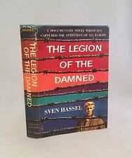The Legion Of The Damned-Sven Hassel-TRUE First U.S. Edition/1st Printing!!-RARE