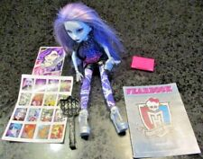Monster High Picture Day Spectra Vondergeist Doll, Fearbook, Brush, Handbag+MORE