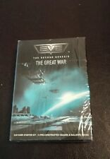 New 2006 EVE The Second Genesis The Great War 110 Card Starter Kit and 2...