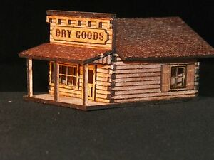 HO Scale Old West Dry Goods Store Kit
