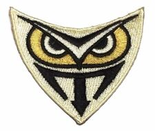 """Blade Runner Tyrell Genetic Replicants Owl 2 1/4"""" Wide Embroidered Patch"""