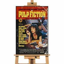 Pulp Fiction v2 Movie Artwork  Canvas Art Wall Print