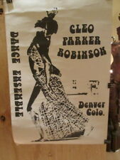 Cleo Parker Robinson Dance Ensemble - Denver Colo. Rare early Poster Ex