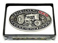 Case Agriculture IH Belt Buckle If It Ain't Red Tractor Farm Spec Cast Licensed
