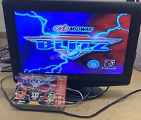 NFL Blitz (Nintendo 64, 1997)  Authentic N64, Game And Box Tested.