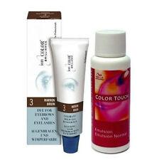 Tinte de Cejas y Pestañas Marron IonColor 15ML + Emulsión Color Touch Wella 1,9%