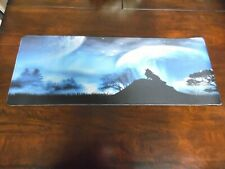"""Howling Wolf XXL Large Gaming Mouse Pad Mat 31.5""""x11.8"""" Playmat Game Mat"""