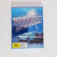 Back to the Future DVD Box Set Collector's Set 4 x Disc R4 AUS - Free Postage