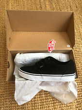 VANS ATWOOD LOW CANVAS SKATEBOARDING SHOES BLACK TRAINERS SIZE 6 UK BNIB✨🏁