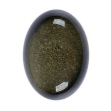 "30mm Golden obsidian oval flatback cab cabochon 1.2"""