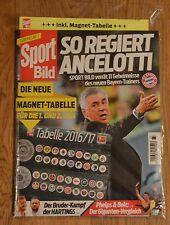 Sport Bild Nr. 33 mit Magnettabelle 2016/2017 Sportbild Neu & OVP