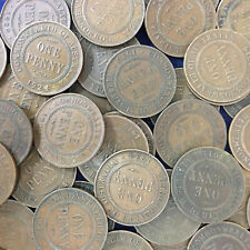 Australian KGV Bulk Penny pre decimal coins x 22 1911 to 1936 14 different dates