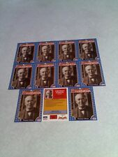 *****Thomas Edison*****  Lot of 11 cards / 1992 Americana