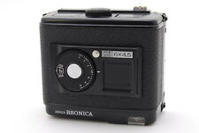 "Bronica GS-1 6x4.5 120 Roll Film Back Holder G GS1 "" Near Mint "" From Japan E296"