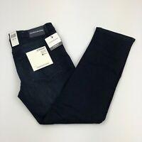 Calvin Klein Men's Straight Fit Stretch Jeans Blue Medium Wash
