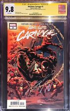 Absolute Carnage 2 CGC SS 9.8 Signed Donny Cates & Ryan Stegman