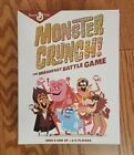 Monster Crunch board game  NEW SEALED mash general mills cereal Halloween fun