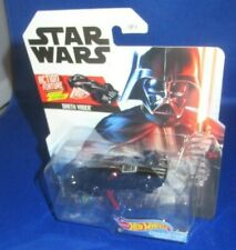 DISNEY STAR WARS DARTH VADER COLLECTOR HOT WHEELS CHARACTER CARS ACTION FEATURE