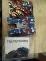 Transformers (DVD, 2007, 2-Disc Set, Special Edition) Optimus Prime Case