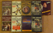 Lot de 9 Cassettes Tape K7 Eddy Mitchell