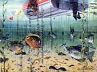 "Les Kouba ""Panfishin"" fishing boat Art Print 17.25 x 13.25"