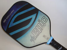 ALL NEW SELKIRK AMPED X5 EPIC PICKLEBALL PADDLE FIBER FLEX  SAPPHIRE BLUE