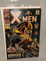 Marvel Comics #33 June 1967 The X-Men (Juggernaut App) 12 Cent Cover Comic Book