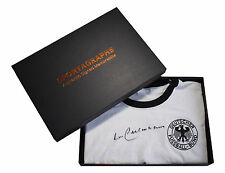 Franz Beckenbauer SIGNED 1974 Germany Retro Shirt Autograph 1974 Gift Box COA
