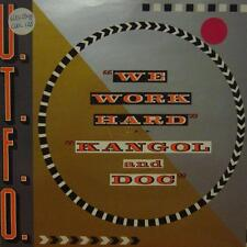 "U.T.F.O(7"" Vinyl P/S)We Work Hard-Cool Tempo-COOL 128-UK-Ex/VG+"