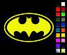 Batman OL Decal / Sticker - Choose Color & Size - Logo, Symbol, Bruce Wayne *