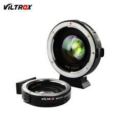 VILTROX EF-M2 Auto Focus Reducer Speed Booster Turbo Adapter f Canon Lens to M43