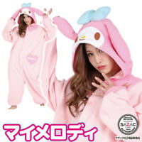 Sanrio My Melody Fleece Kigurumi Cosplay Costume SAZAC From Japan Character