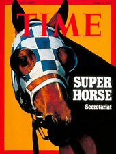 1970s SECRETARIAT on Time magazine cover FRIDGE MAGNET - new!