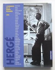 HERGE L'HOMMAGE DE LA BANDE DESSINEE 1983 - CASTERMAN -2003- REED. - TINTIN