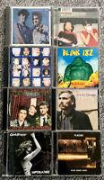 CD Album Bundle X8 Indie, Rock, Folk, Crowded House, Goldfrapp, Sum41, Blink 182