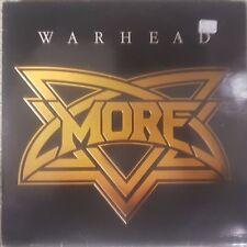 More Warhead 9 Track Vinyl Album Rock/Heavy Metal