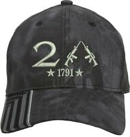 Only 2nd Amendment 1791 Guns Embroidered One Size Fits All Baseball Hats