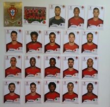 PORTUGAL  CR7   Panini Fifa Soccer World Cup Russia 2018 Team Set 20 Stickers