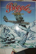 BD biggles n°13 neiges mortelles réédition 2003 TBE loutte RAF