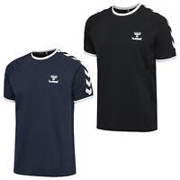 hummel hmlJIMMY T-Shirt kurzarm Shirt Shortsleeve Herren Freizeitshirt 206149